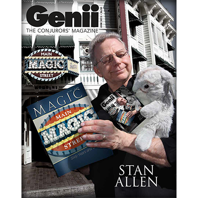 Genii Magazine - June 2015  - magic