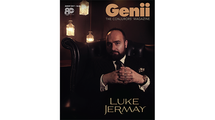 "Genii Magazine ""Luke Jermay"" August 2017 - magic"