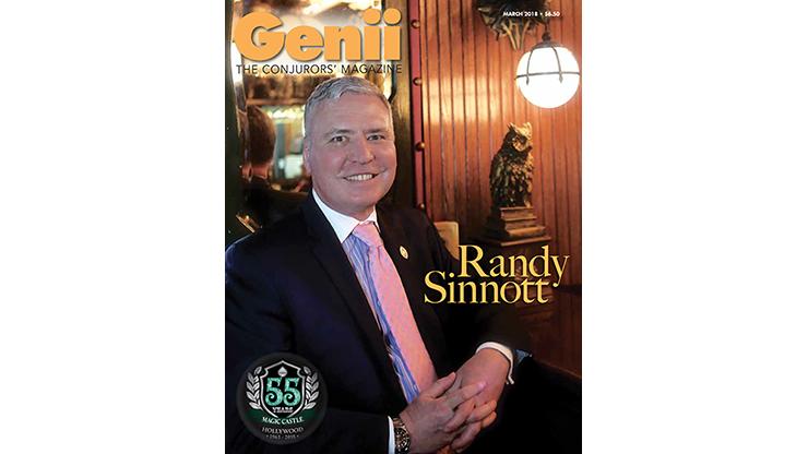 Genii Magazine March 2018 - magic