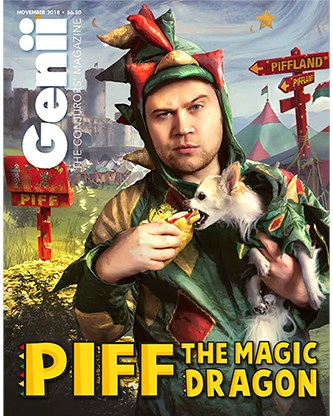 Genii Magazine November 2018 - magic