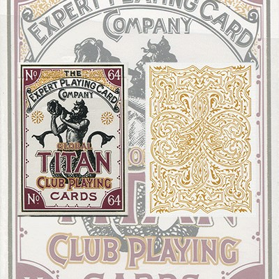Global Titans  from The Expert Playing Card Co. - magic