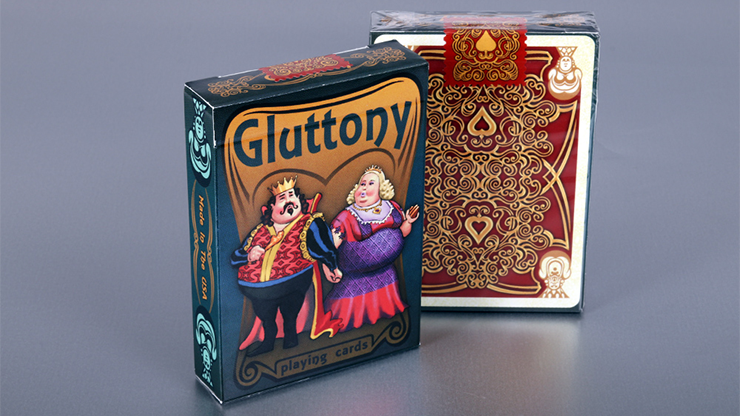 Gluttony Playing Cards - magic