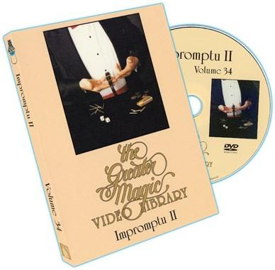 Greater Magic Video Library 34 - Impromptu Volume2 - magic