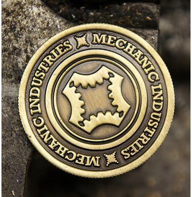 Half Dollar Coin (Bronze) - magic