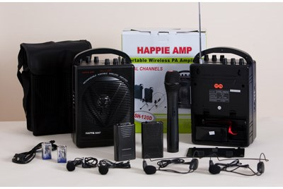 Happie Amp with Microphone - magic