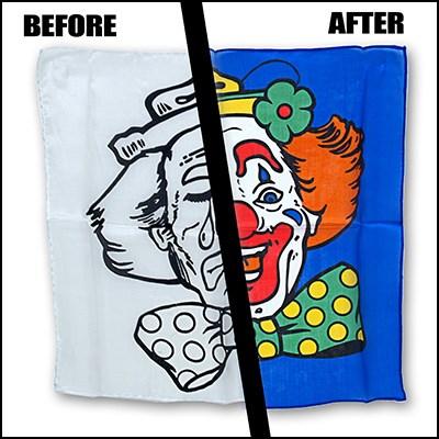 Happy/Sad Clown Silk Set - magic