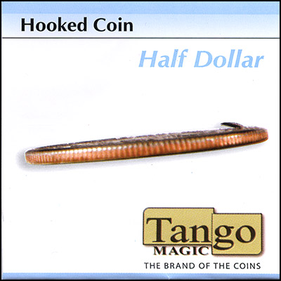 Hooked Coin - Half Dollar - magic