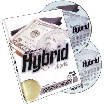 Hybrid w/CD Nigel Harrison, DVD - magic