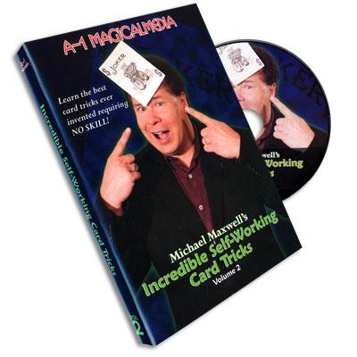 Incredible Self Working Card Tricks Volume 2 - magic