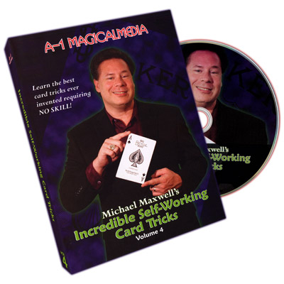 Incredible Self Working Card Tricks Volume 4 - magic