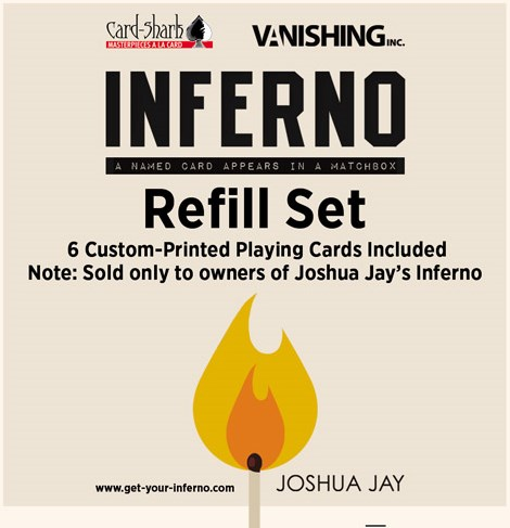 Inferno Refill (cards only) - magic
