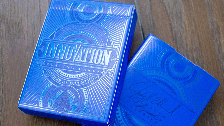 Innovation - Blue Signature Edition Playing Cards - magic