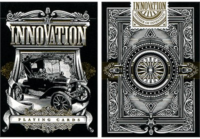 Innovation Playing Cards Black Edition - magic