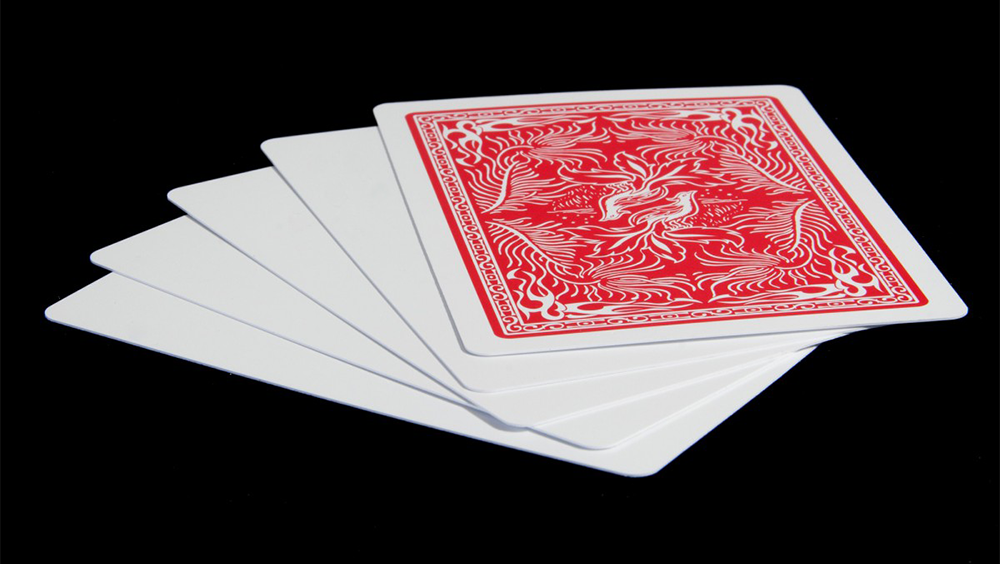 Insight Blank Face Cards - magic