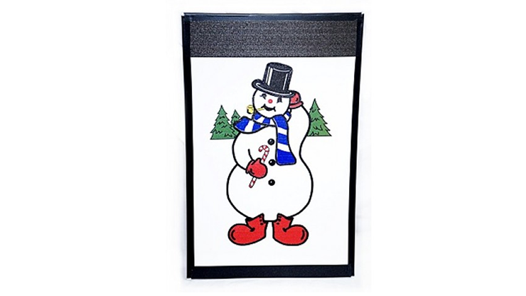 Instant Art Frame Insert - Frosty the Snowman - magic