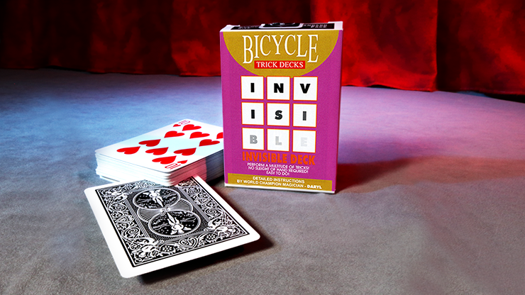Invisible Deck Bicycle - magic
