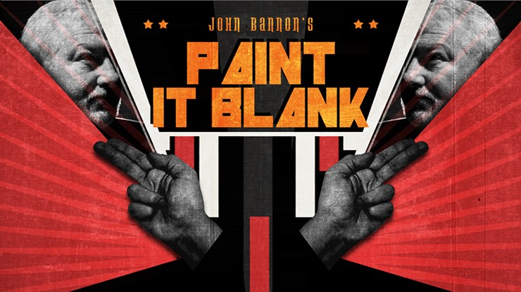 John Bannon's PAINT IT BLANK - magic