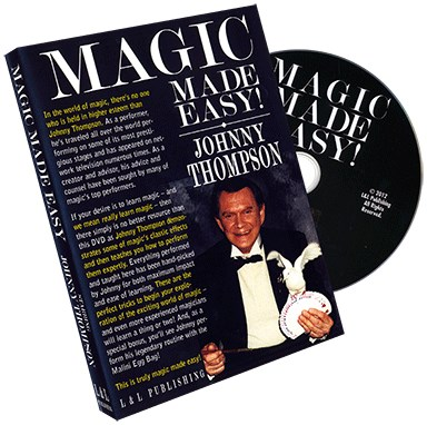 Johnny Thompson's Magic Made Easy - magic