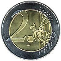 Jumbo 2 Euro Coin - magic