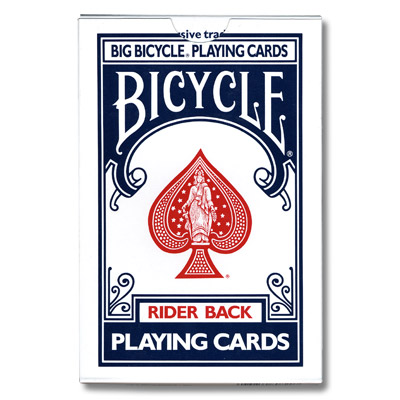 Jumbo Invisible Deck Bicycle - magic