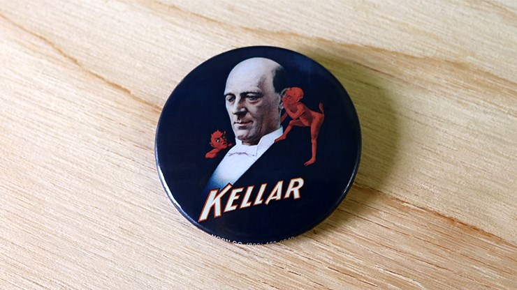 Keller Pin-Back Button - magic