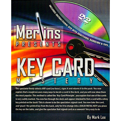 Key Card Mystery - magic