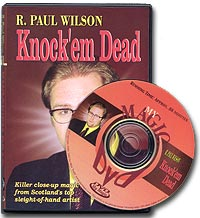 Knock'em Dead Paul Wilson - magic