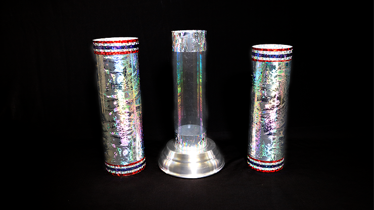 Large Crystal Silk Cylinder - magic