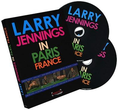 Larry Jennings in Paris, France - magic