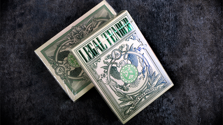 Legal Tender Playing Cards - US Version - magic