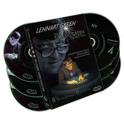 Lennart Green Classic Green Collection 6-Disc Set - magic