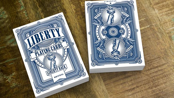 Liberty Playing Cards - magic