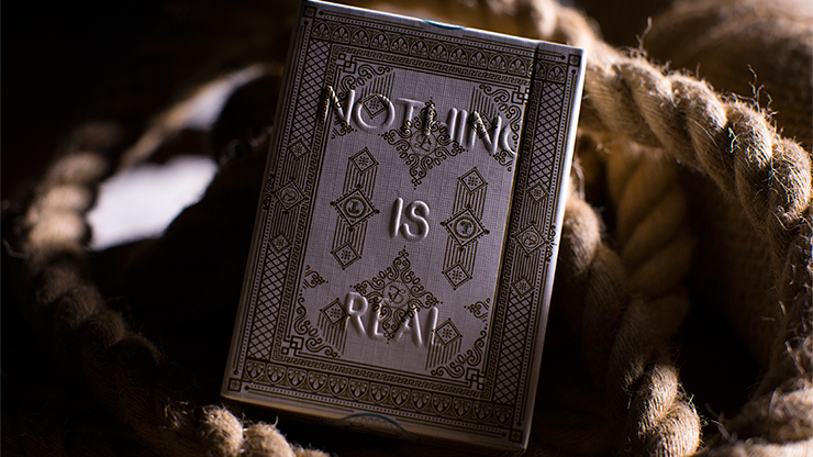 Lies Playing Cards - Nothing Is Real - magic