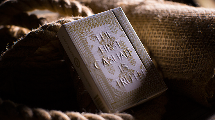 Lies Playing Cards - The First Casuality Is Truth - magic