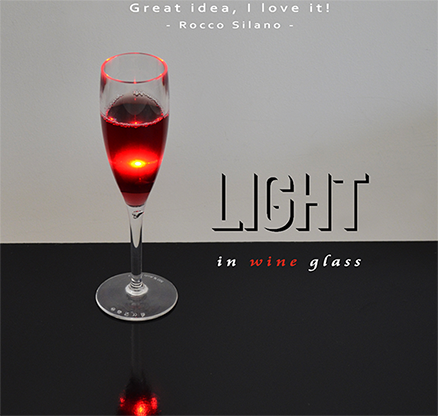 Light in Wine Glass - magic