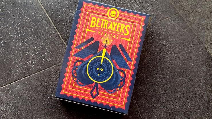 Betrayers Veritas Playing Cards - magic