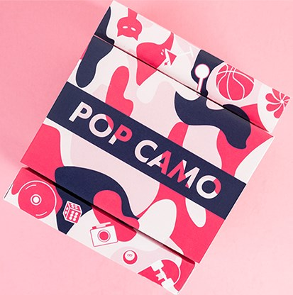 POP CAMO Playing Cards - magic