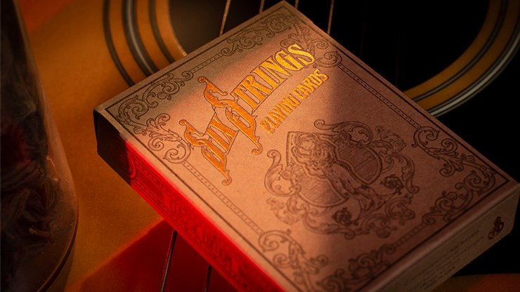 Six Strings Playing Cards - magic
