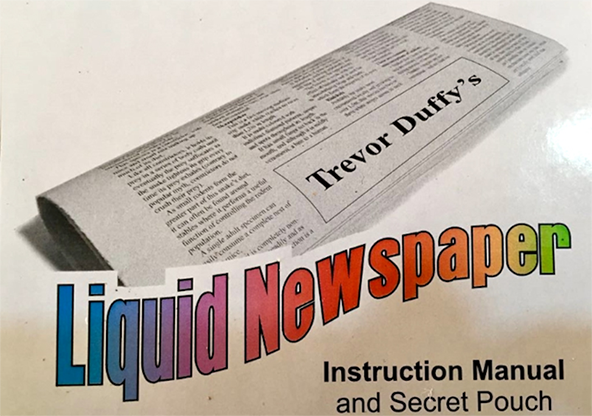 Liquid Newspaper - magic