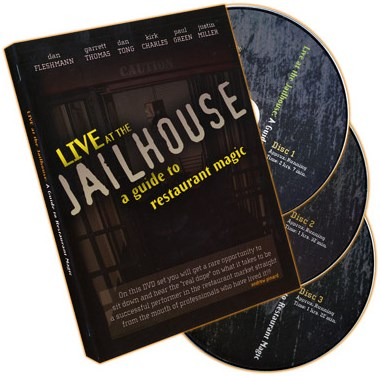 Live At the Jailhouse - A Guide to Restaurant Magic  -DVD - magic