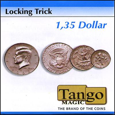 Locking Coins - $1.35 - magic