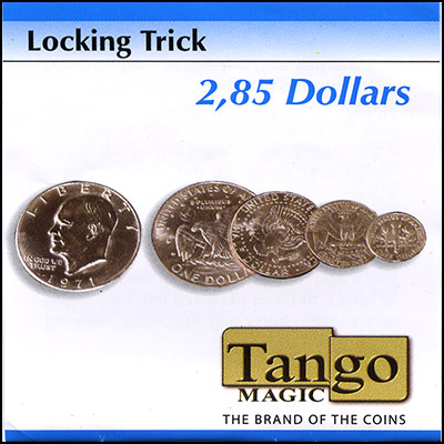 Locking Coins - $2.85 - magic