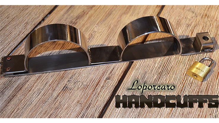 Loporcaro Handcuffs - magic