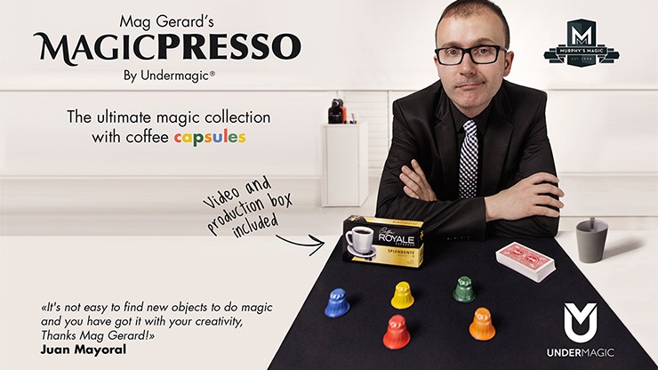 Mag Gerard's MAGICPRESSO - magic