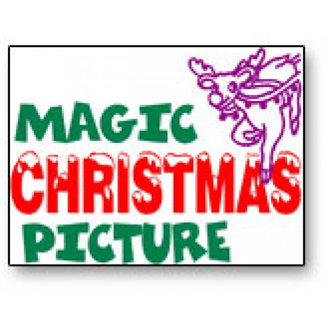 Magic Christmas Picture  - magic