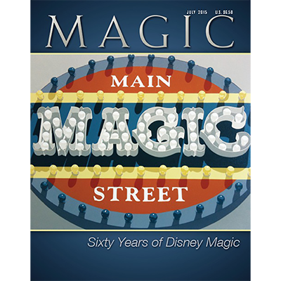 Magic Magazine - July 2015  - magic
