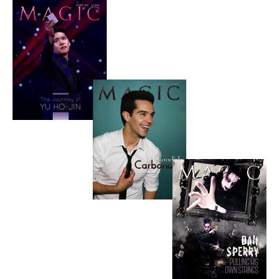 Magic Magazine Set (October, November, December 2014) - magic