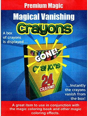Magical Vanishing Crayons - magic
