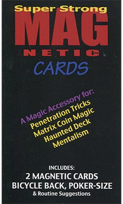Magnetic Cards - magic