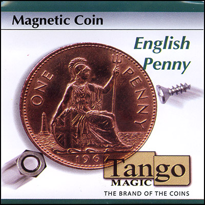 Magnetic Coin - English Penny - magic